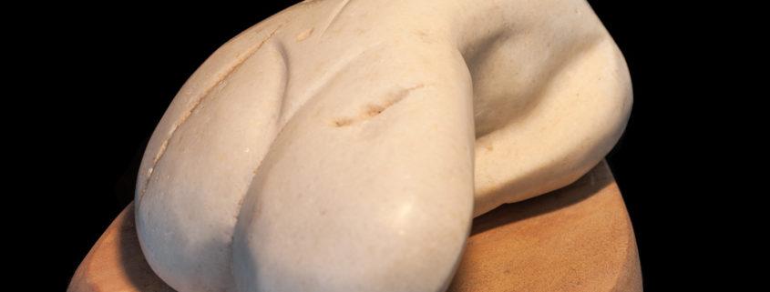 Kori beautiful and naked and smooth as a beach pebble
