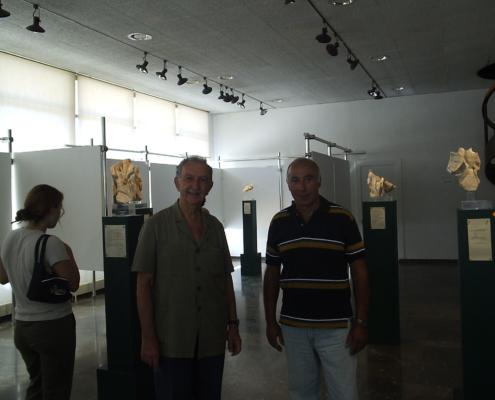 Χίος-2006-Ομήρειο-Πνευματικό-Κέντρο.-Με-το-Γιώργο-Διλμπόη-Έκθεση-Πηγυλίδες-και-Ρυάδες